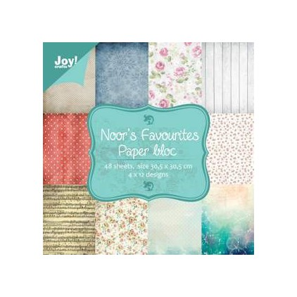 Set of scrapbooking papers - Joy Crafts - Noor's Favorites