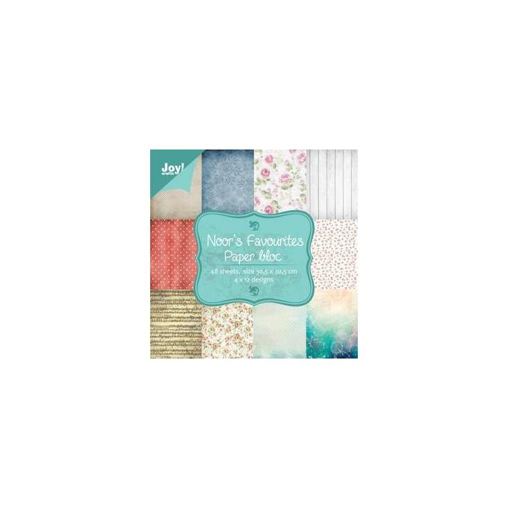 Set of scrapbooking papers - Joy Crafts - Noor's Favorites