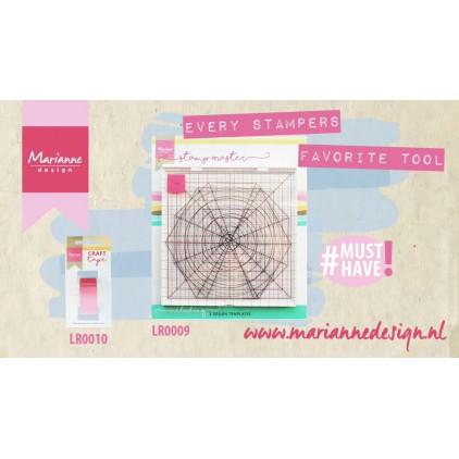 Narzędzie do odbijania stempli, platforma - Marianne Design - Stamp Master - LR0009