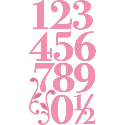Die-cut- Marianne Design Collectables  numbers - COL1418