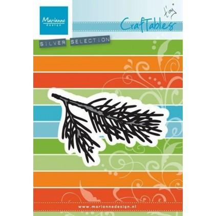 Die-cut- Pine tree branch - Marianne Design - CraftTables - CR1378