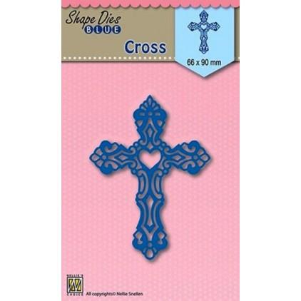 Wykrojnik - Nellies Choice - Cross - Easter- SDB014