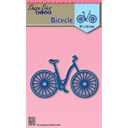 Die-cut- Nellies Choice - Bicycle - SDB004