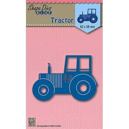 Die-cut- Nellies Choice - Tractor - SDB002