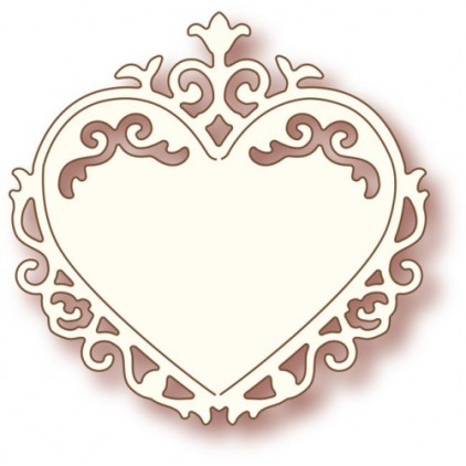 Wild Rose Studio SD006 - Die - Ornate Heart