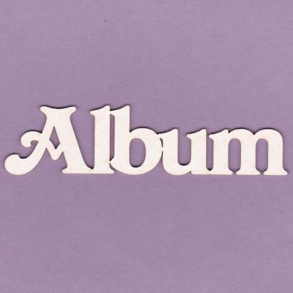 Album napis duży - tekturka - Crafty Moly 544