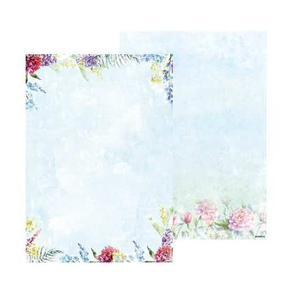Papier do tworzenia kartek i scrapbookingu A4- Studio Light - Beautiful Flowers - BASISBF216
