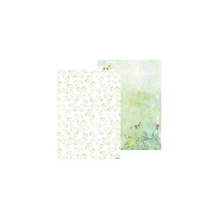 Papier do tworzenia kartek i scrapbookingu A4- Studio Light - Beautiful Flowers - BASISBF216