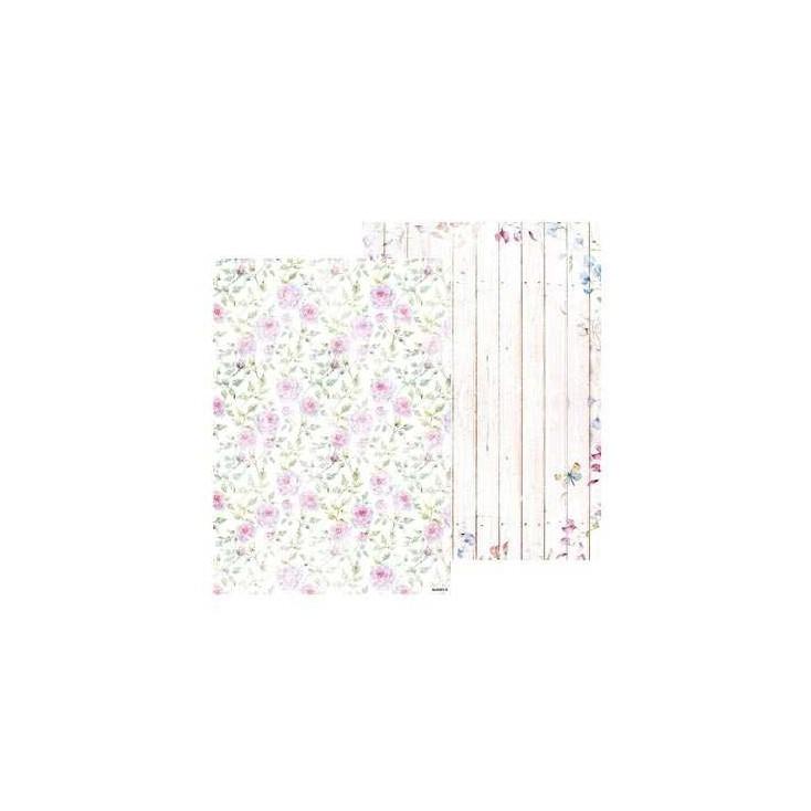 Papier do tworzenia kartek i scrapbookingu A4- Studio Light - Beautiful Flowers - BASISBF217