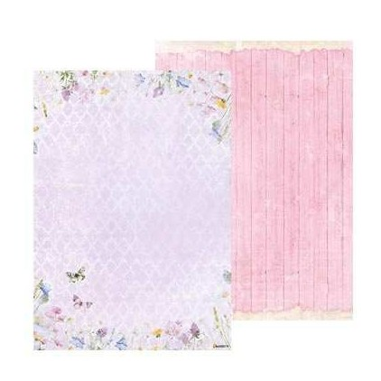Papier do tworzenia kartek i scrapbookingu A4- Studio Light - Beautiful Flowers - BASISBF219