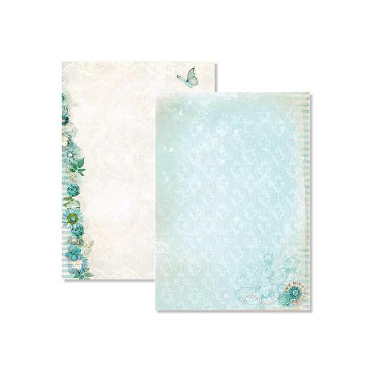 Papier do tworzenia kartek i scrapbookingu A4- Studio Light - Beautiful Flowers - BASISBF219