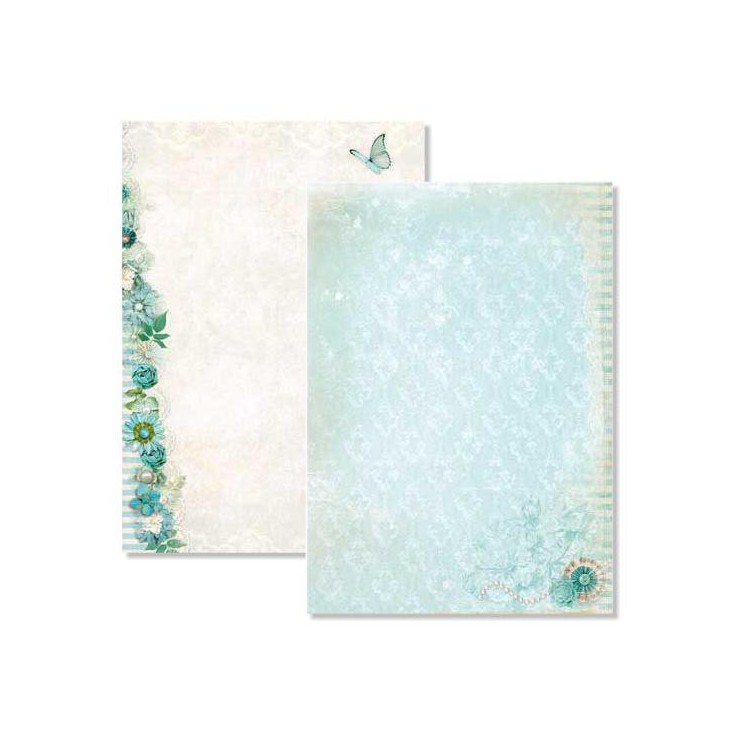 Scrapbooking paper A4 - Studio Light - Beautiful Flowers - BASISBF219