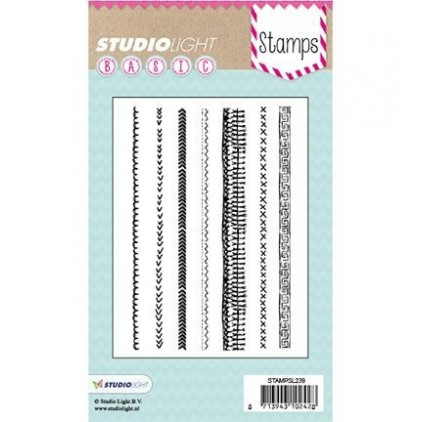 Set of clear stamps - Studio Light - A6 -Basic - STAMPSL239