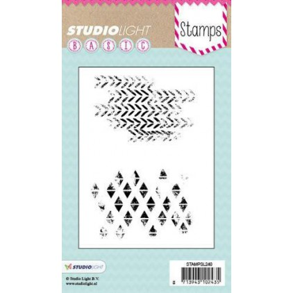 Set of clear stamps - Studio Light - A6 -Basic - STAMPSL240