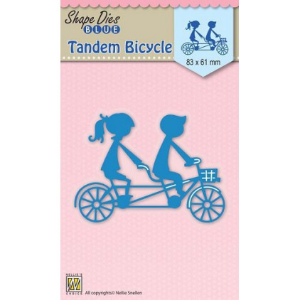 Die-cut- Nellies Choice - Tandem Bicycle - SDB029