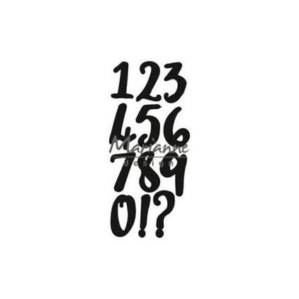 Wykrojniki Letters- Marianne Design CraftTables - CR1417