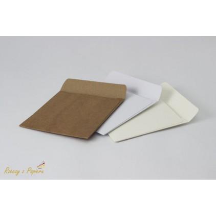 Folder na CD kremowy 12,5 x 12,5 - Rzeczy z Papieru