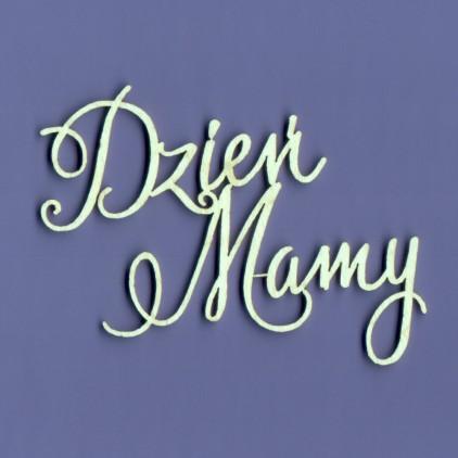 Tekturka -Crafty Moly - napis - Dzień Mamy - G4