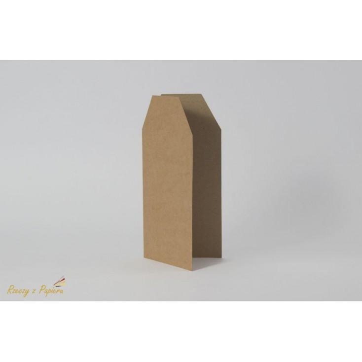 Base for card - TAG 10 x 21 DL cream - Rzeczy z Papieru