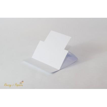 Baza sztalugowa kwadratowa - biała -14 x 14- Rzeczy z Papieru