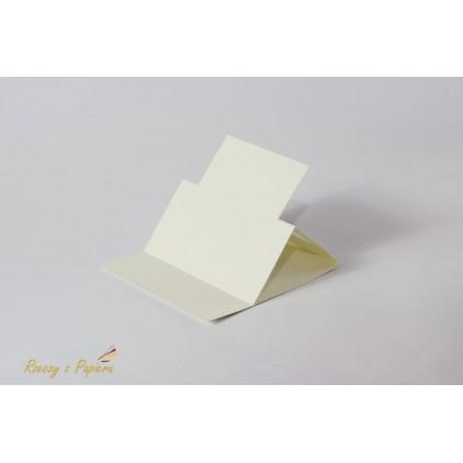 Easel base round - 14 x 14 cream - Rzeczy z Papieru
