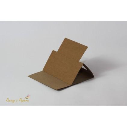 Easel base square- 14 x 14 kraft - Rzeczy z Papieru