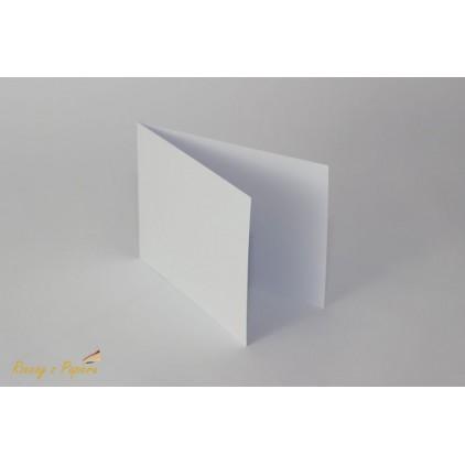 Baza do kartki pionowa C6- biała - Rzeczy z Papieru
