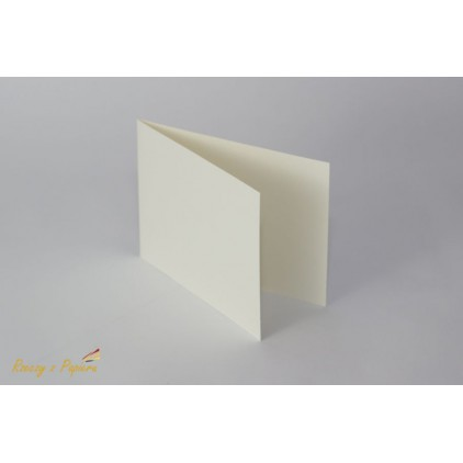 Base for the card vertical - C6 white - Rzeczy z Papieru