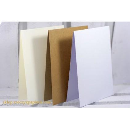 Baza do kartki pionowa C6- kraft - Rzeczy z Papieru