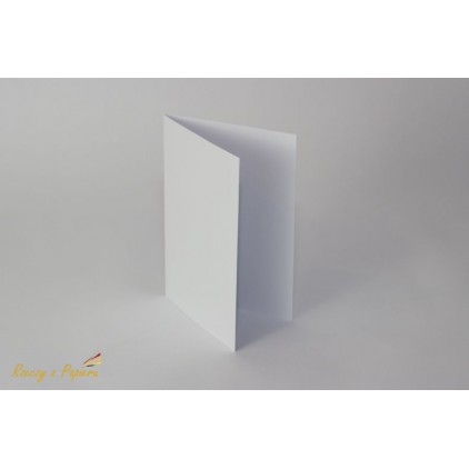 Base for the card horizontal - C6 white - Rzeczy z Papieru