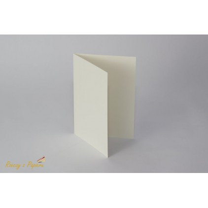 Base for the card horizontal - C6 cream- Rzeczy z Papieru