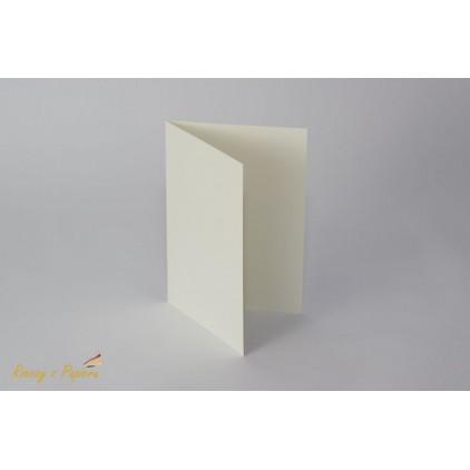 Baza do kartki pozioma C6- kremowa - Rzeczy z Papieru