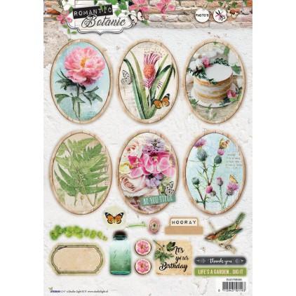 Die Cut Sheet Photo's - Studio Light - Romantic Botanic - EASYRB585