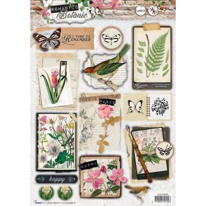 Die Cut Sheet Photo's - Studio Light - Romantic Botanic - EASYRB588