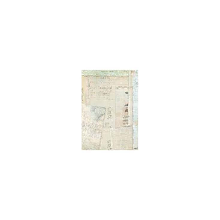 Papier do tworzenia kartek i scrapbookingu A4 - Studio Light - Romantic Botanic - BASISRB244