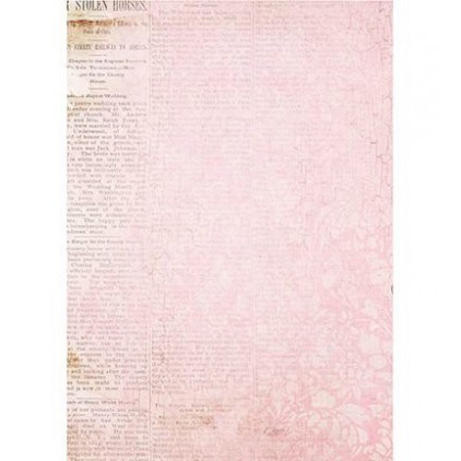 Papier do tworzenia kartek i scrapbookingu A4 - Studio Light - Romantic Botanic - BASISRB246