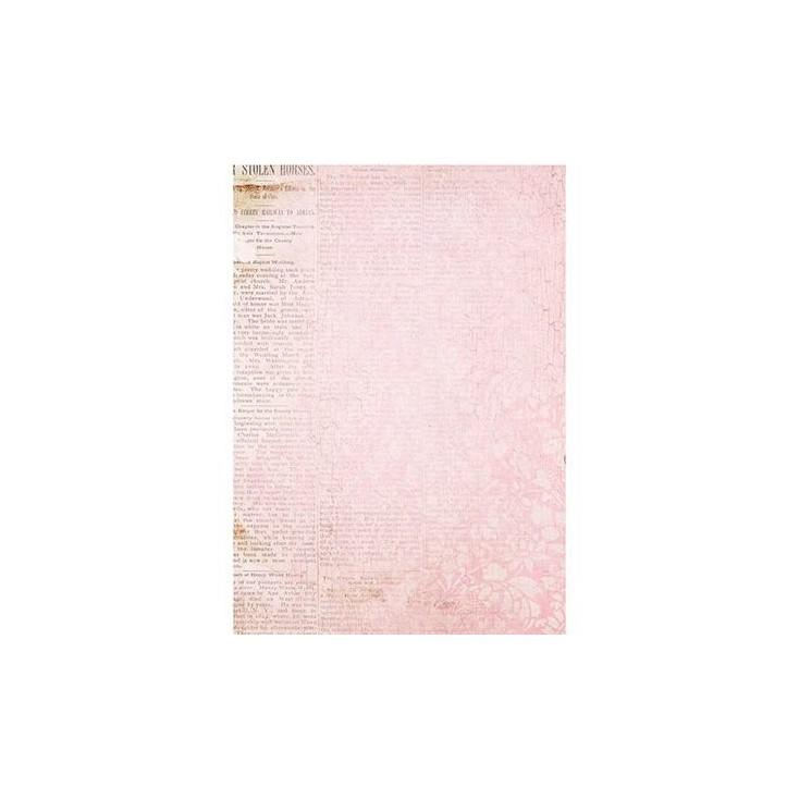 Scrapbooking paper A4 - Studio Light - Romantic Botanic - BASISBF245