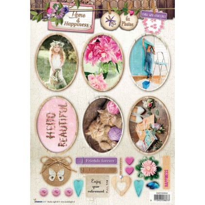 Die Cut Sheet Photo's - Studio Light - Home & Happiness - EASYHH543