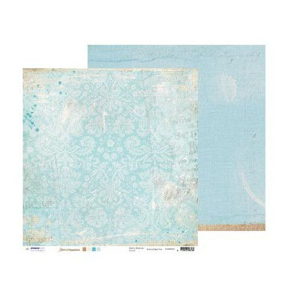 Scrapbooking paper - Studio Light - Romantic Botanic  - SCRAPRB04