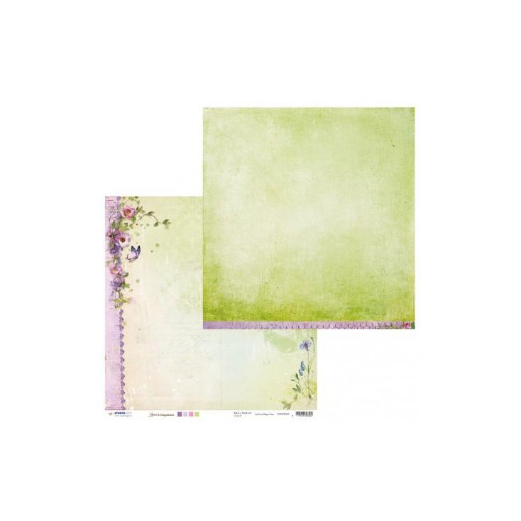 Papier do tworzenia kartek i scrapbookingu - Studio Light - Home & Happiness SCRAPHH02