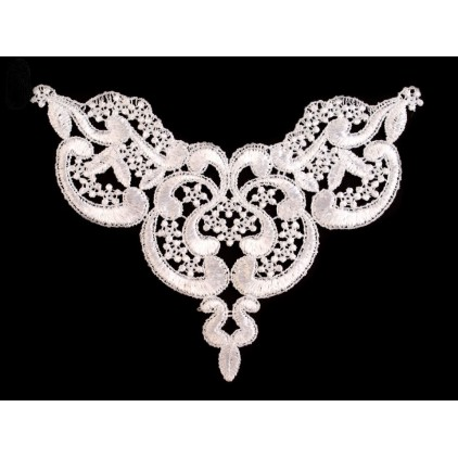 Lace application 05 - white - 1 pc