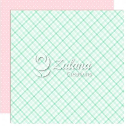Scrapbooking paper - Zulana Creations - Cute Baby Girl 06