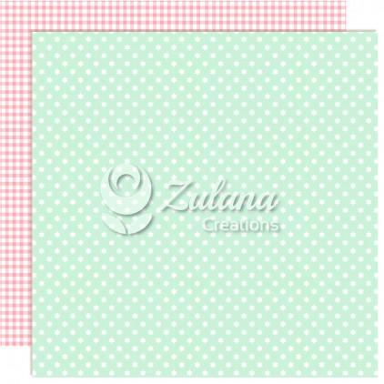 Papier do tworzenia kartek i scrapbookingu - Zulana Creations - Cute Baby Girl 05