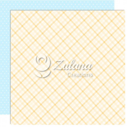 Scrapbooking paper - Zulana Creations - Cute Baby Boy 06
