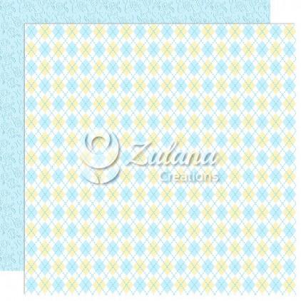 Scrapbooking paper - Zulana Creations - Cute Baby Boy 03