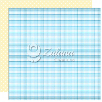 Scrapbooking paper - Zulana Creations - Cute Baby Boy 01