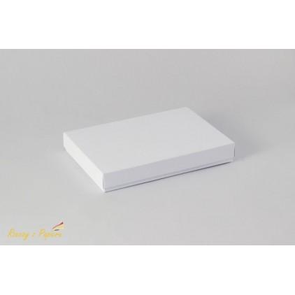 Pudełko na kartkę C6, pełne, niskie 12,4x17,2x2,5 białe - Rzeczy z Papieru