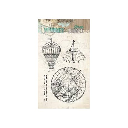 Set of clear stamps - Studio Light - A6 - Memories of Summer - STAMPM288