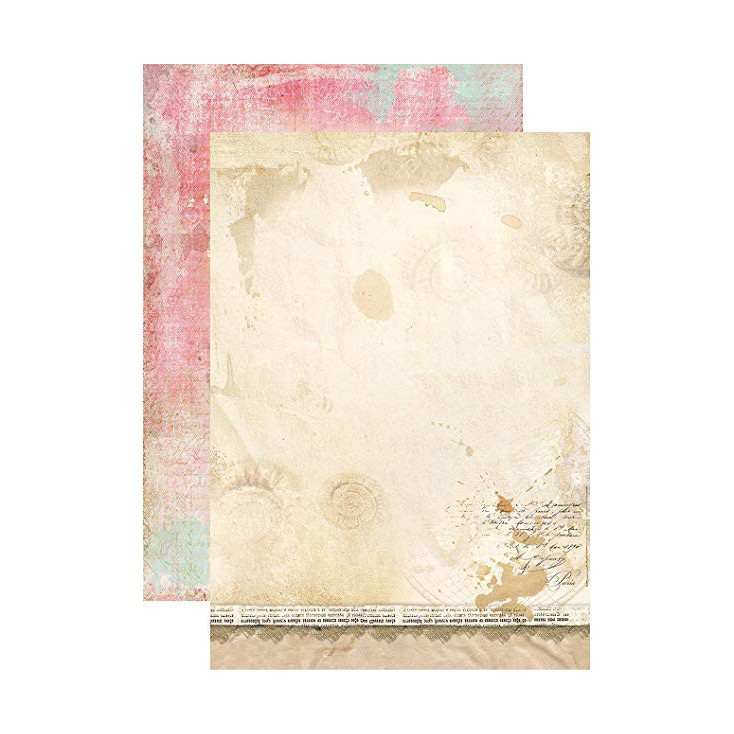 Papier do tworzenia kartek i scrapbookingu A4 - Studio Light - Memories of Summer - BASISMS260