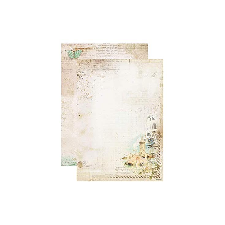 Scrapbooking paper A4 - Studio Light - Memories of Summer - BASISMS261